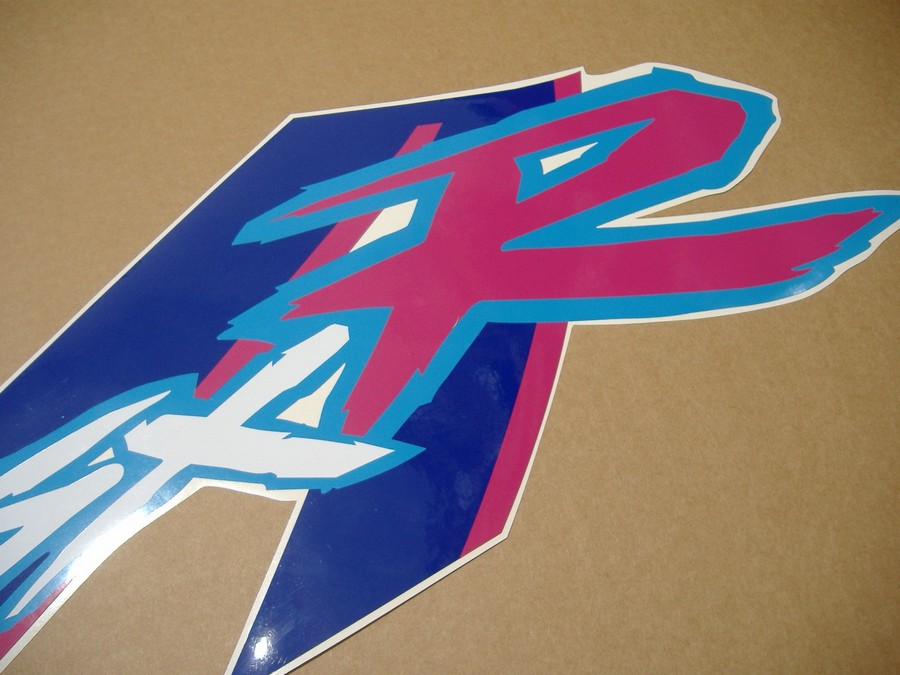 Suzuki Gsx R 750 1992 Whiteblue Version Sticker Set
