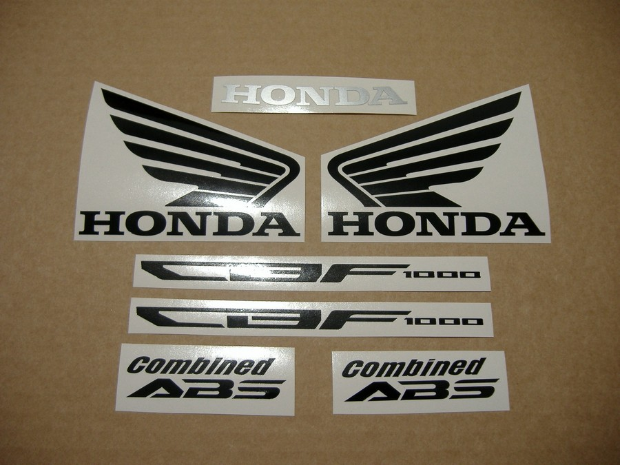 Honda CBF1000 2011 Gold Complete Decals Set