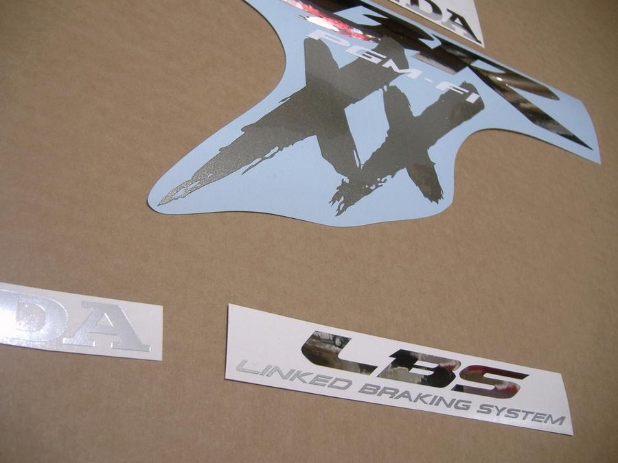 CBR 1100XX 2003 decals stickers kit set reproduction pattern logo autocollants