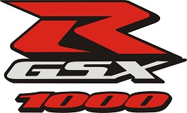 Custom color Suzuki GSX-R 1000 decal sets