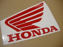 Honda CBR 600RR 2006 black decals kit