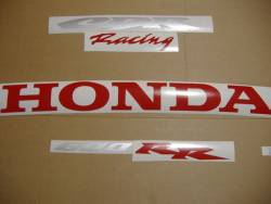 Honda 600RR 2006 black labels graphics