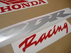 Honda CBR 600RR 2006 black stickers