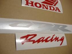 Honda 600RR 2006 black full decals kit