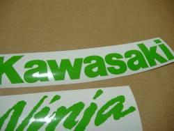 Kawasaki ZX10R Ninja lime green graphics set