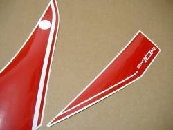 Kawasaki ZX10R 2016 red logo decals set