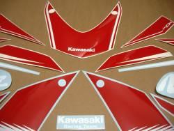 Kawasaki ZX10R 2016 Ninja red graphics set