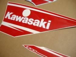 Kawasaki ZX10R 2016 Ninja red full decals set