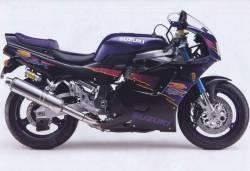 Suzuki GSXR 750 1994 1995 black graphics