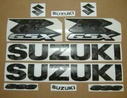 Suzuki GSX-R 600 custom camouflage decals kit