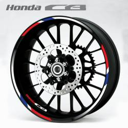 Honda CB CB900 CB1300 rim decals kit
