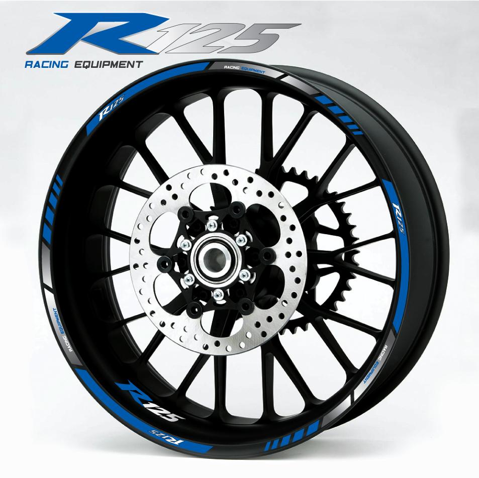Yamaha R Wheel Stickers