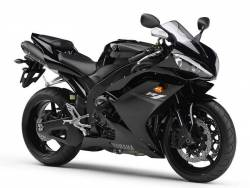 Yamaha YZF R1 2007 4c8 black EU stickers kit