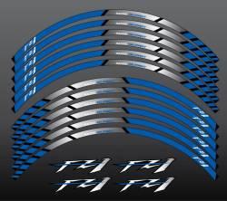 Yamaha FZ1 Fazer wheel rim sticker set