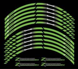 Kawasaki Z1000sx green 17