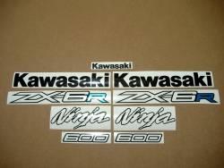 Kawasaki ZX6R Ninja 2012 2015 graphics set