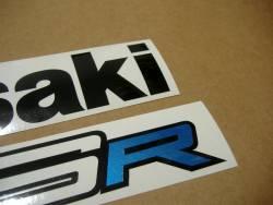 Kawasaki ZX-6R Ninja 2012 2016 stickers set