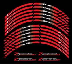 Kawasaki Z1000 SX red 17