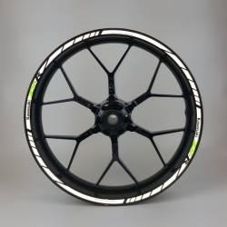 Kawasaki Ninja light reflective wheel decals
