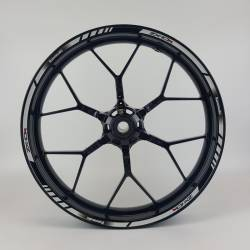 Kawasaki ZX10R light reflective wheel stripes