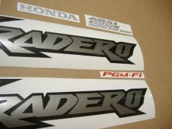 Honda Varadero XL 1000 2005 complete sticker kit