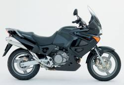 Honda XL1000V 2006 black stickers set