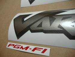 Honda XL1000V 2006 black logo decals set