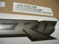 Honda XL1000V 2006 black graphics set