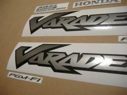 Honda XL 1000V 2006 grey full decals set
