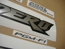 Honda XL 1000VA 2006 silver graphics set