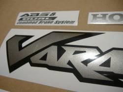 Honda XL 1000VA 2006 black stickers set