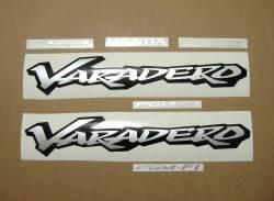 Honda Varadero 2002 blue complete decal kit