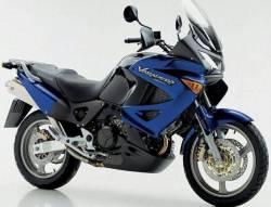 Honda XL1000V 2002 blue full decals set