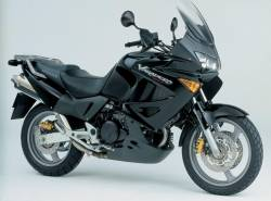 Honda Varadero 2004 black complete sticker kit
