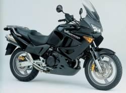 Honda XL1000V 2004 black full decals set