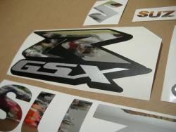 Suzuki GSX-R 600 k5 chrome decals