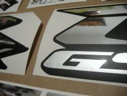 Suzuki GSXR 600 chrome complete decal set