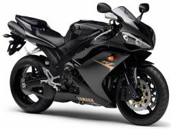 Yamaha R1 2007 RN19 4c8 black US stickers