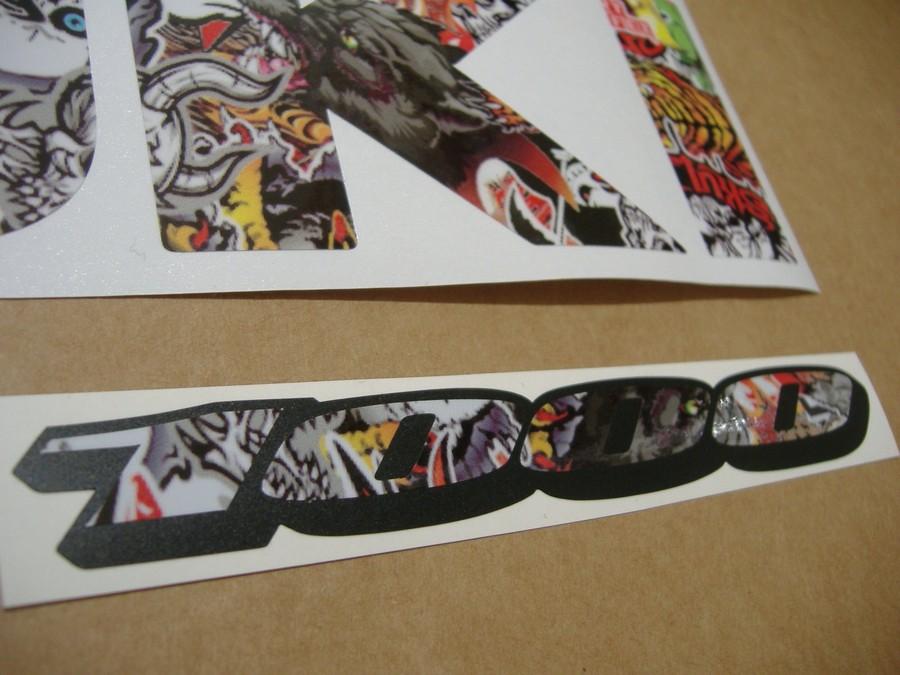 suzuki gsxr 1000 stickerbomb graffiti look logo decal. Black Bedroom Furniture Sets. Home Design Ideas