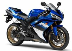Yamaha R1 2008 4c8 complete sticker kit