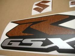 Suzuki GSXR 1000 leather look adhesives