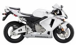 Honda CBR 600RR 2006 silver stickers kit