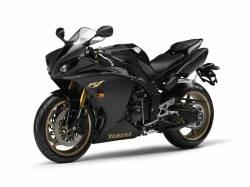 Yamaha YZF R1 2009 RN22 black decal set
