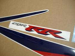 Honda Fireblade 900rr 2000 SC44 red blue decals