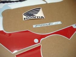 Honda Fireblade 900rr 2000 SC44 red blue graphics