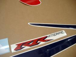 Honda CBR 929RR 2000 SC44 red blue decals