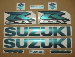 Suzuki GSXR 1000 chameleon customized stickers