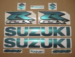 Suzuki GSXR 600 SRAD chameleon graphics kit