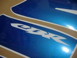 Honda CBR 600RR 2004 blue decals set