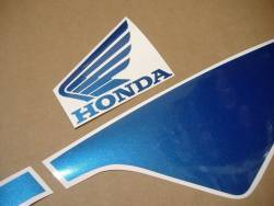 Honda CBR 600RR 2004 pearl blue decals kit